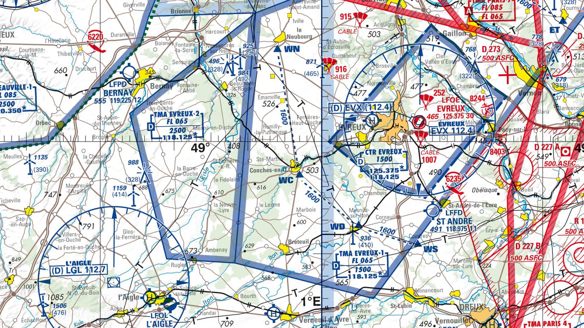 Réglementation drone à Conches en ouche