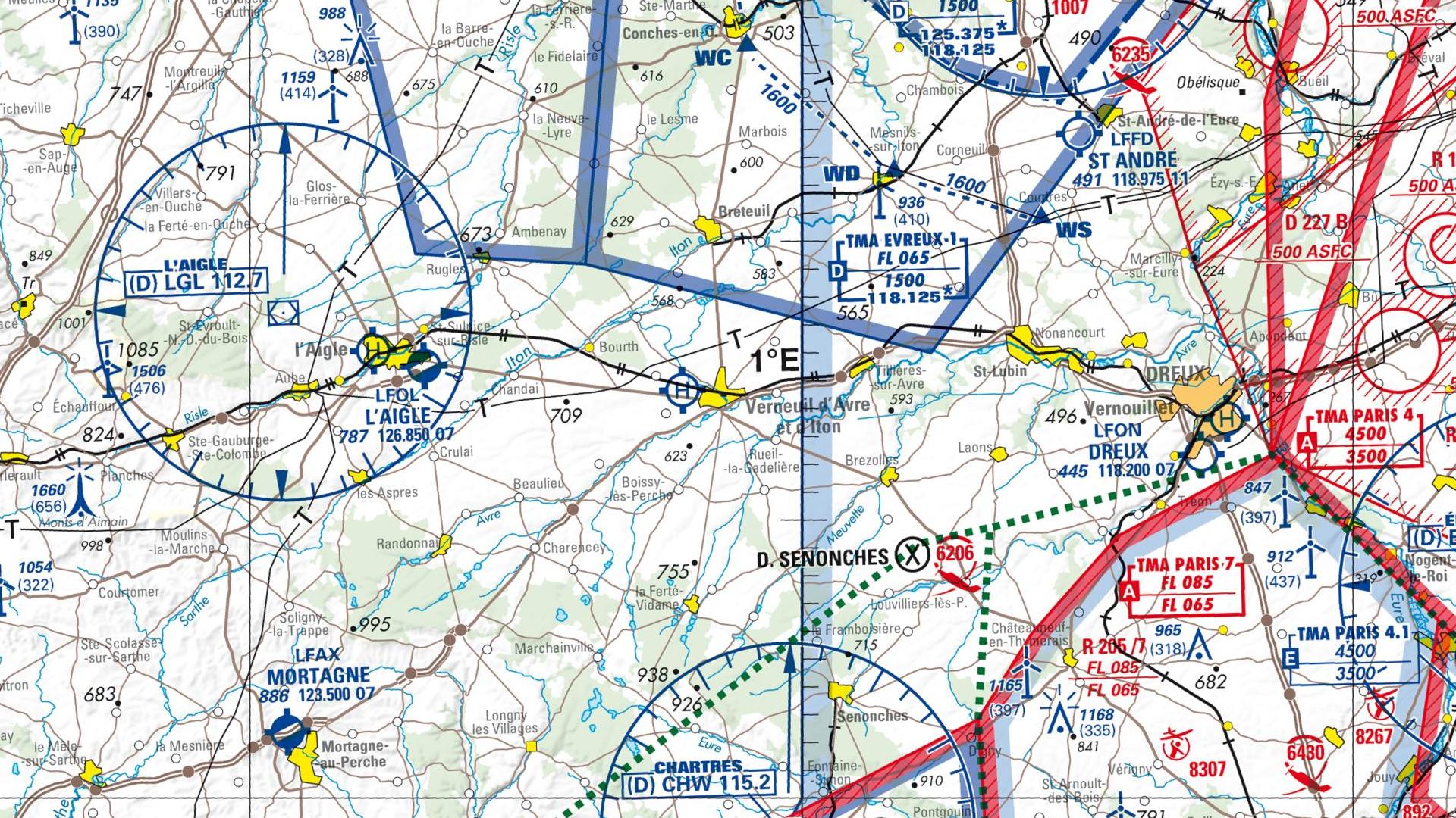 Réglementation drone à Verneuil sur avre