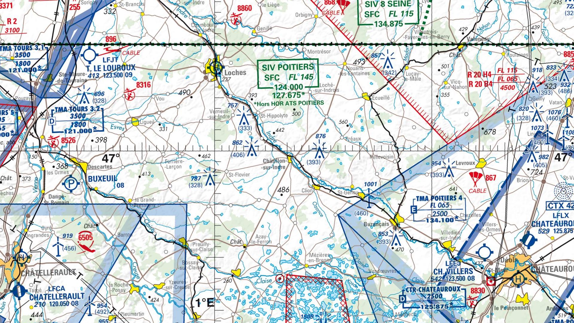 Réglementation drone à Chatillon sur indre