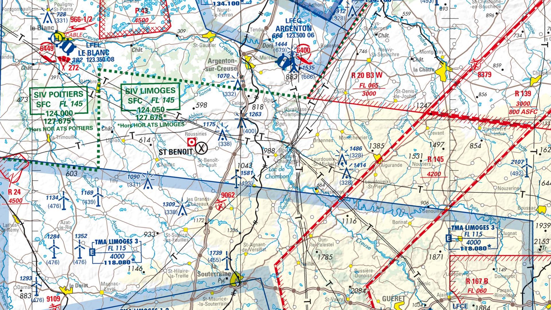 Réglementation drone à Eguzon chantome
