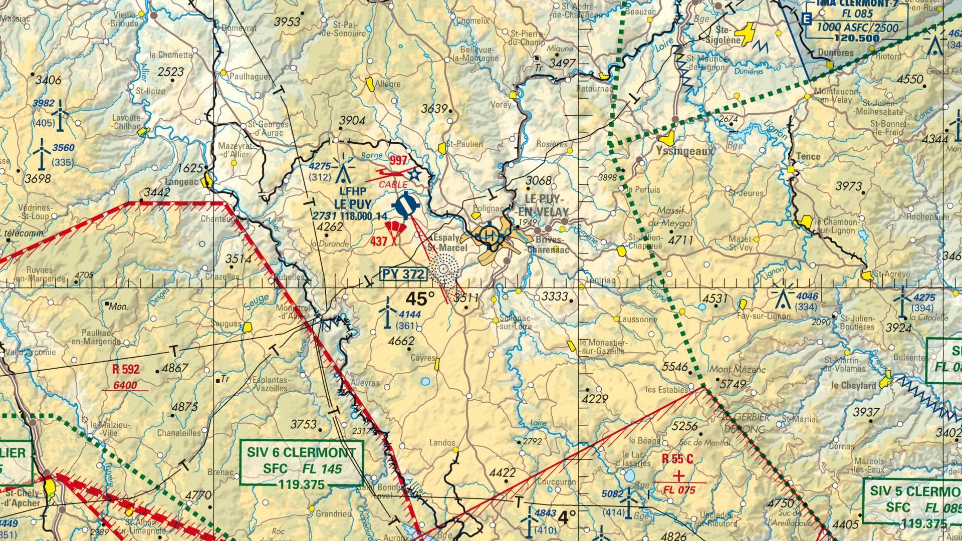 Réglementation drone à Vals pres le puy