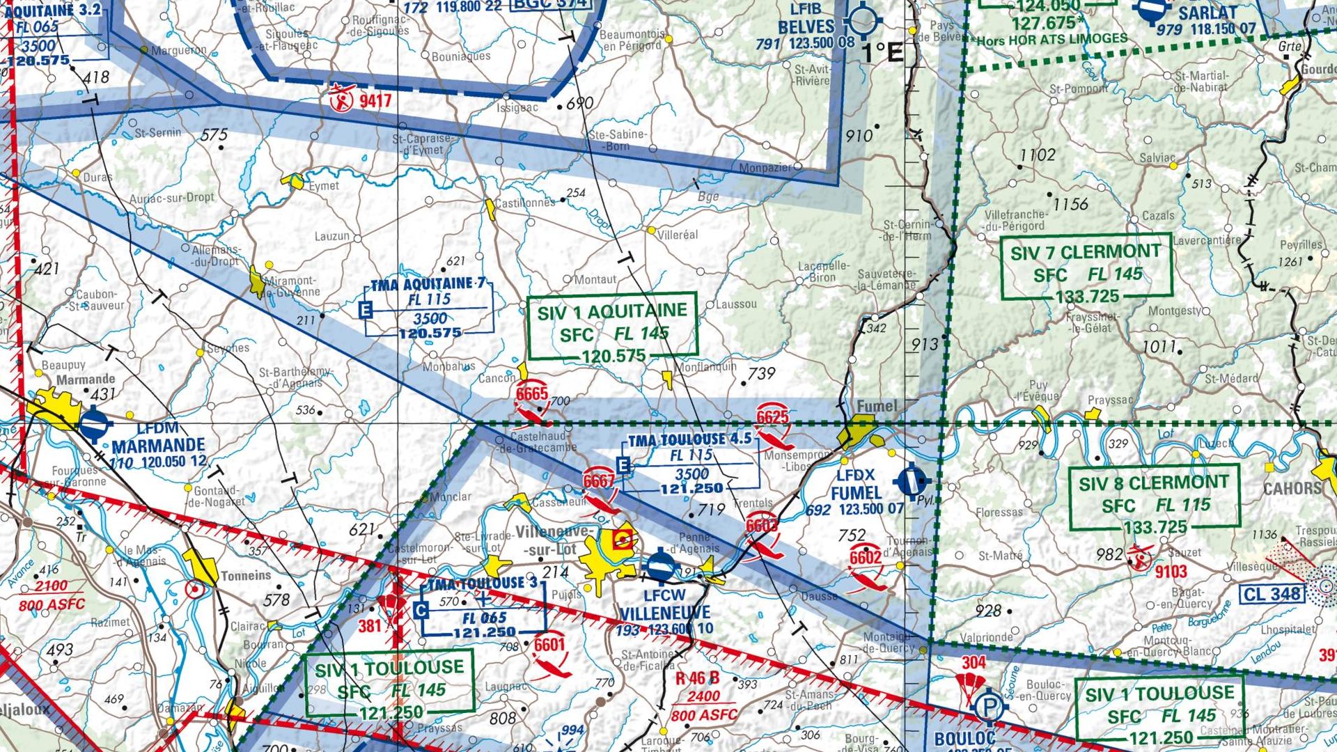 Réglementation drone à Monflanquin