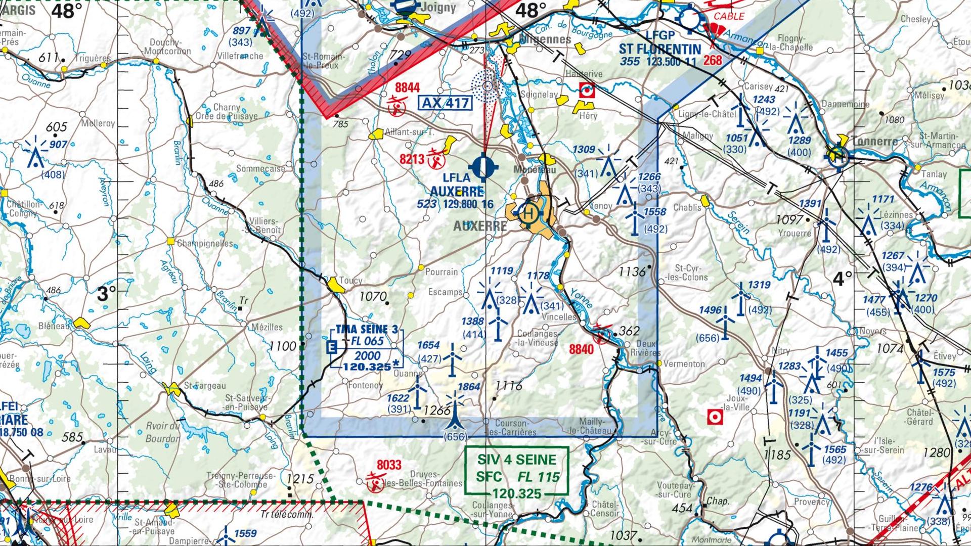 Réglementation drone à Chevannes