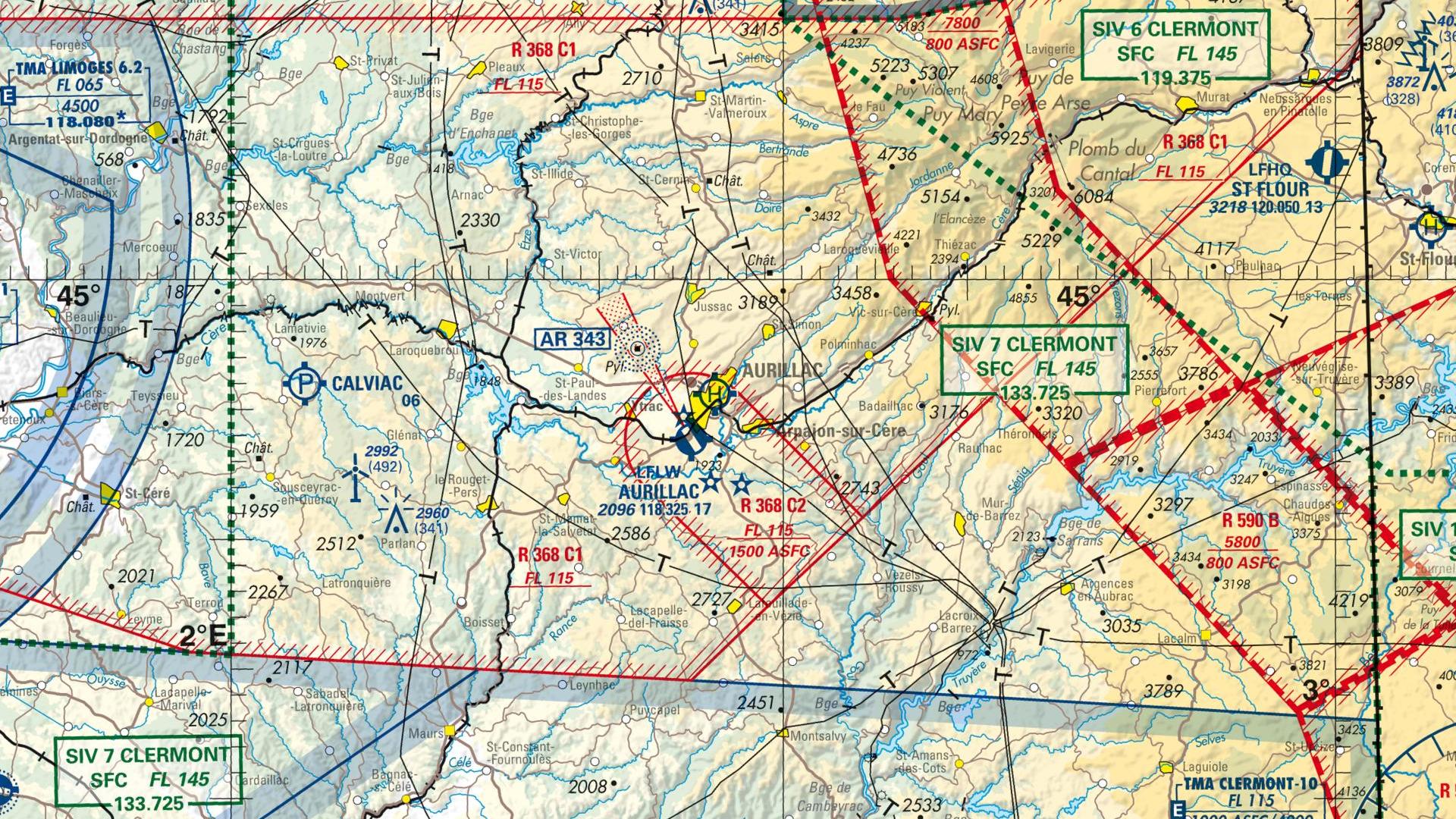 Réglementation drone à Aurillac