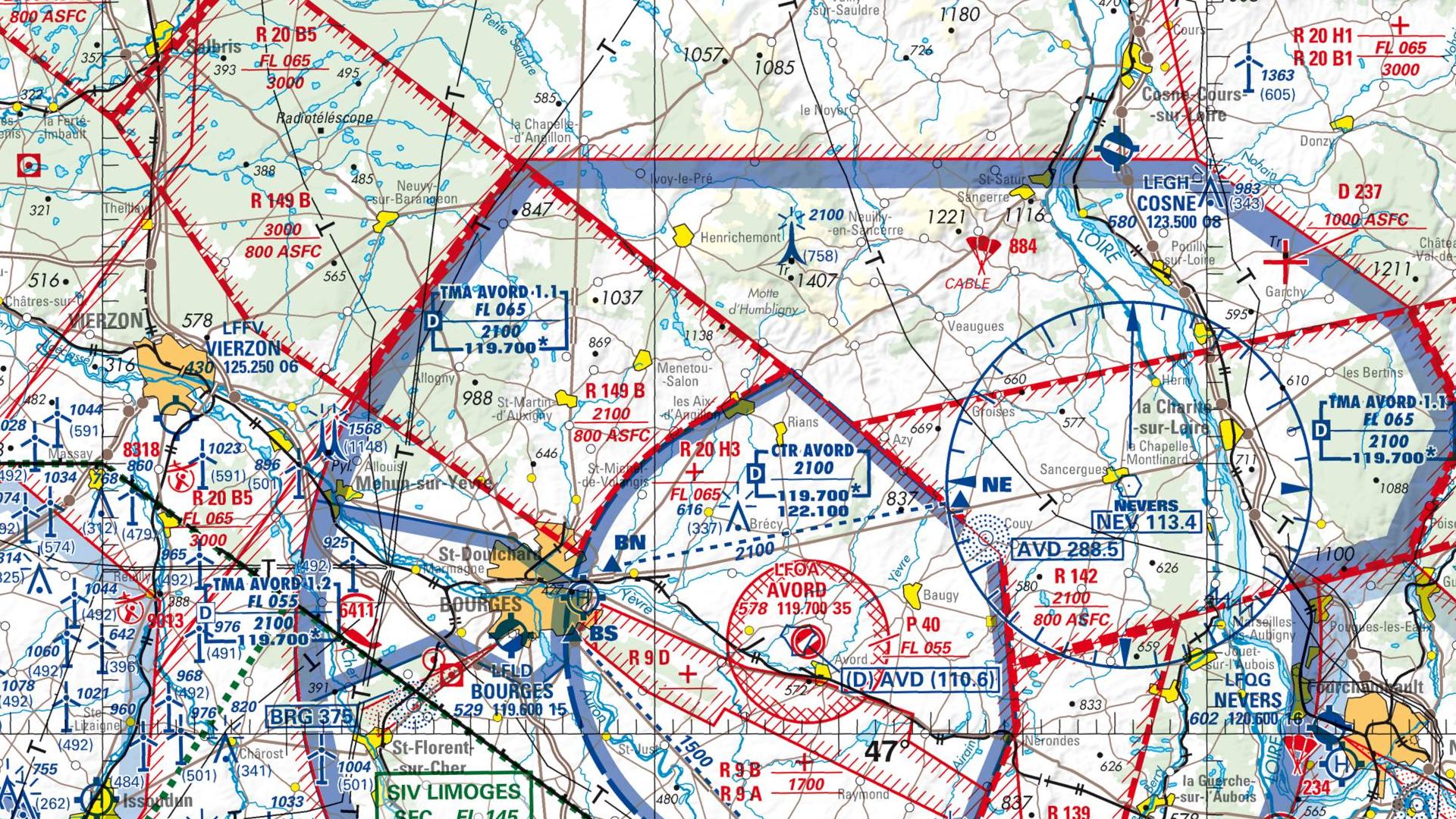 Réglementation drone à Les aix d angillon